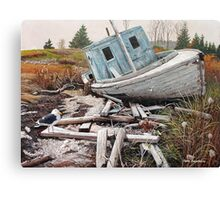 """Beached"" Canvas Print"