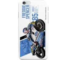 Freddie Spencer - 1985 Mugello iPhone Case/Skin