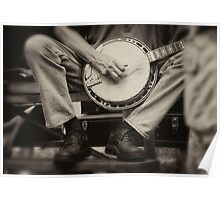 Picking the Banjo  Poster