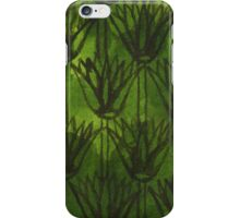 Inky Papyrus Green iPhone Case/Skin