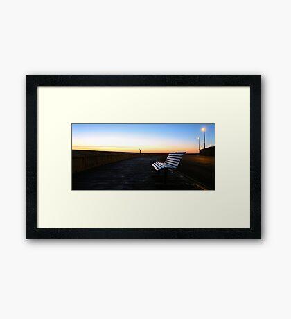 Seat! Framed Print