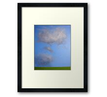 Cloud study Framed Print
