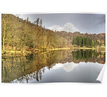 A Day In The Lakes....Yewtree Tarn Poster