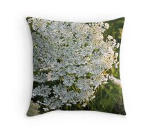 Queen Annes's Lace Throw Pillow