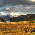 Beinn Dearg Mor from Gruinard by Christopher Cullen