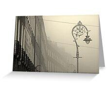 Foggy Harcourt Street Greeting Card