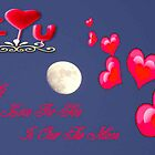 Hearts Over The Moon by MaeBelle
