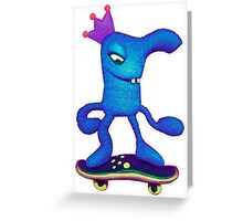 weaselboarder Greeting Card