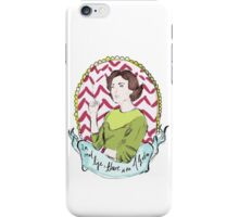 Twin Peaks Audrey Algebra iPhone Case/Skin