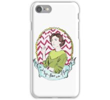 Twin Peaks Audrey Algebra iPhone Case/Skin