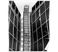 Highrise walking (35mm) Poster