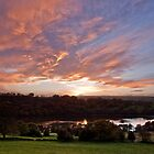 Sunset over Rudyard Lake by James  Key