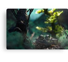 Lego jungle swamp Canvas Print