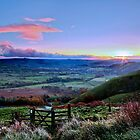 Sunrise Mam Tor to Hope Valley by James  Key