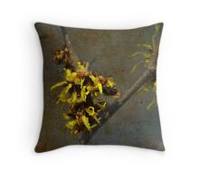 Hamamelis with Fly Throw Pillow