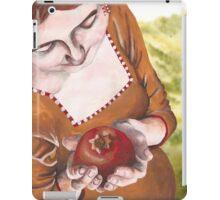 Mary and the Pomegranate iPad Case/Skin