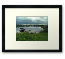 Hackett's Cove, Evening Framed Print
