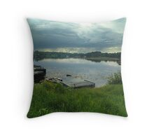 Hackett's Cove, Evening Throw Pillow