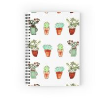 Indie plants Spiral Notebook