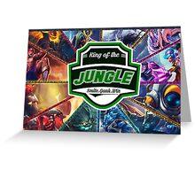 League of Legends Jungler HQ Greeting Card