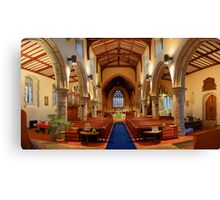 St Mary, Chilham - Nave Canvas Print