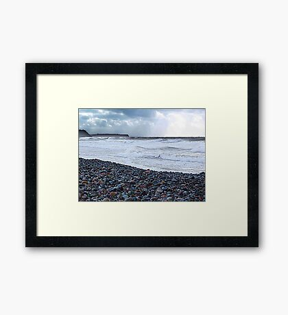 The Sea Around Us Framed Print