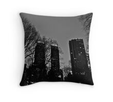 Central Park, NYC Throw Pillow