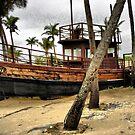 Boat at Goa by Amit  Gairola