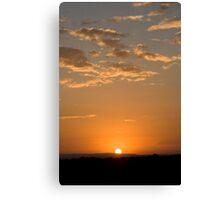 A Kenyan Sunrise Canvas Print