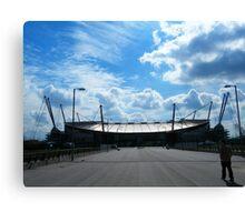 Stadium Walk Canvas Print