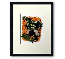 The Incredible Green Man Framed Print