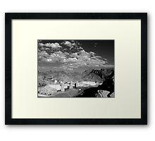 Dam View Framed Print
