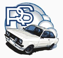 Mk2 Ford Escort RS by Lee Fone