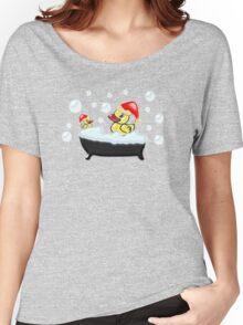 Christmas Ducks Women's Relaxed Fit T-Shirt