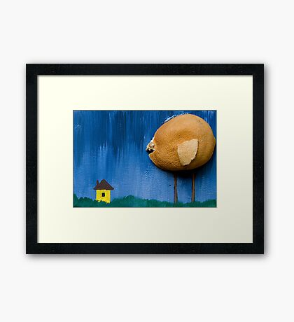 Killer Chick Framed Print