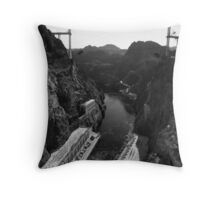 River Controlled Throw Pillow