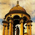 Queen&#x27;s College, Oxford.  The Cupola by buttonpresser