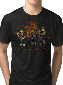 Jak and Daxter Tri-blend T-Shirt