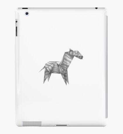 Horse folding paper iPad Case/Skin
