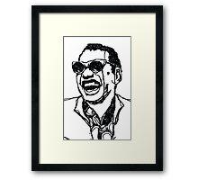 "Raymond Charles Robinson alias ""Ray Charles"" Framed Print"