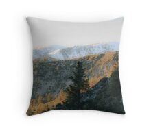 Mt baldy Throw Pillow
