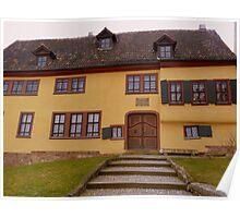 Bachhaus, Eisenach Poster