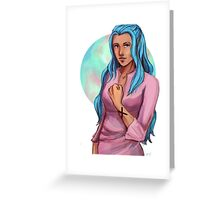 One Piece- Vivi Nefertari Greeting Card