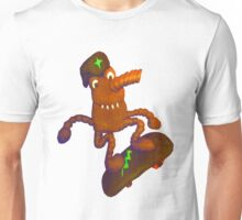 wacky weasel skater Unisex T-Shirt