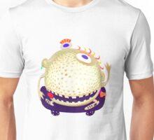 wacky head on a skateboard Unisex T-Shirt