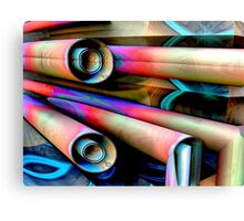 Piped In Kisses Canvas Print