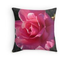'!TOUCHED BY SUNRISE!' Perfume delight, rose. Throw Pillow