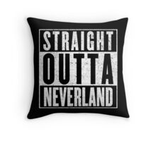 Neverland Represent! Throw Pillow