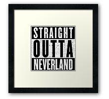 Neverland Represent! Framed Print