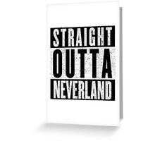 Neverland Represent! Greeting Card